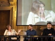 Alexandra Borchardt discusses the power of big tech platforms at the International Journalism Festival in Perugia