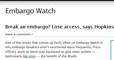 Capture embargo 3