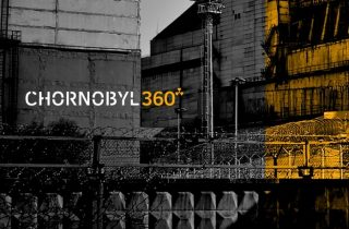 """Image from the 360° video """"Chornobyl360"""""""