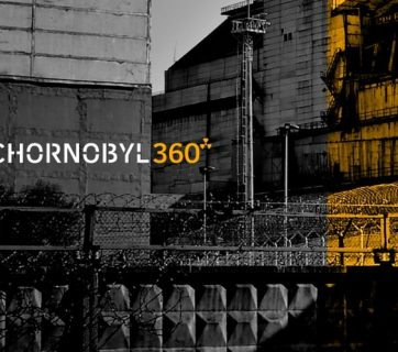 "Image from the 360° video ""Chornobyl360"""