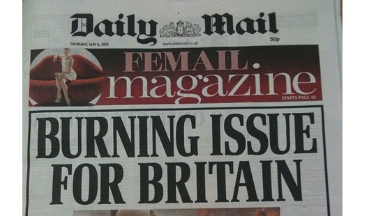 Daily Mail Burning Issue