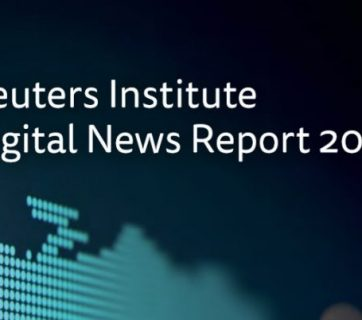 Cover of Reuters Institute DNR 2019