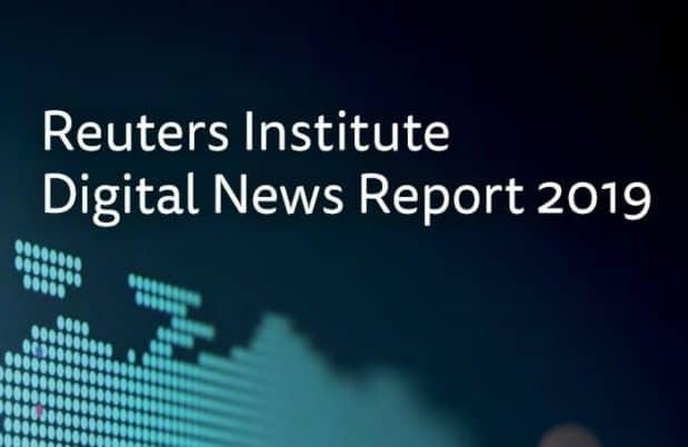 Cover of Reuters Institute DNR 2019