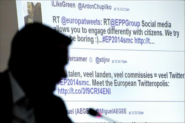 Europe parliament twitter