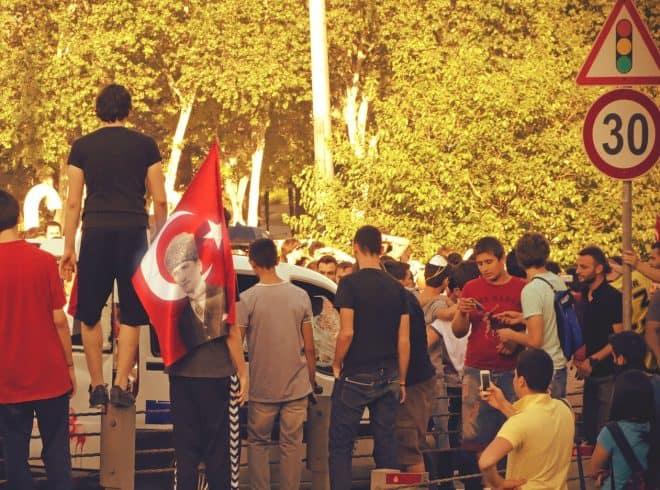 Gezi Park protest, Istanbul, June 2013