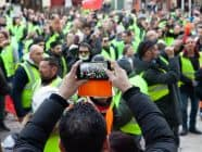 Gilets jaunes or Yellow Vests demo