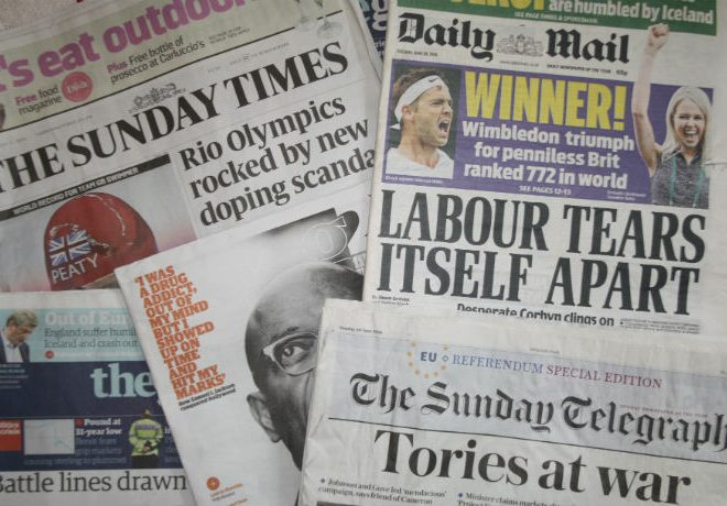 Tabloid and broadsheet newspapers are sharing language and values, according to new research