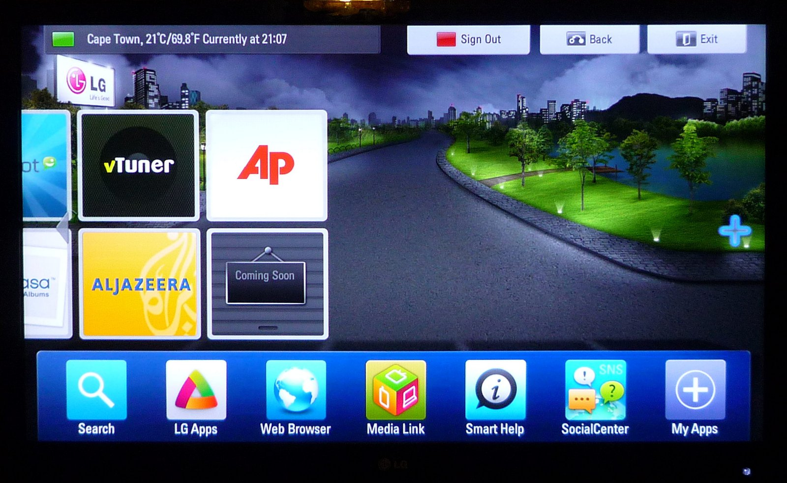 LG TV - Premium apps screen 2 of 2