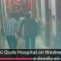 CCTV footage from al-quds hospital, Aleppo