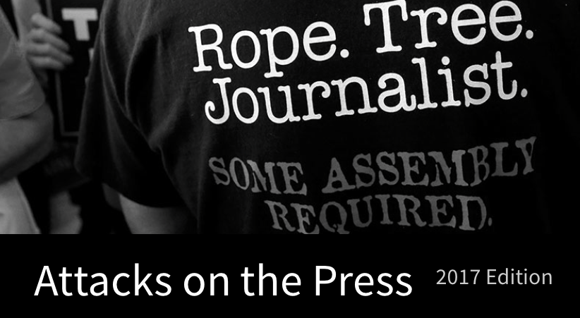 Attacks on the press