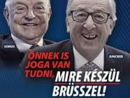 Hungarian government propaganda poster