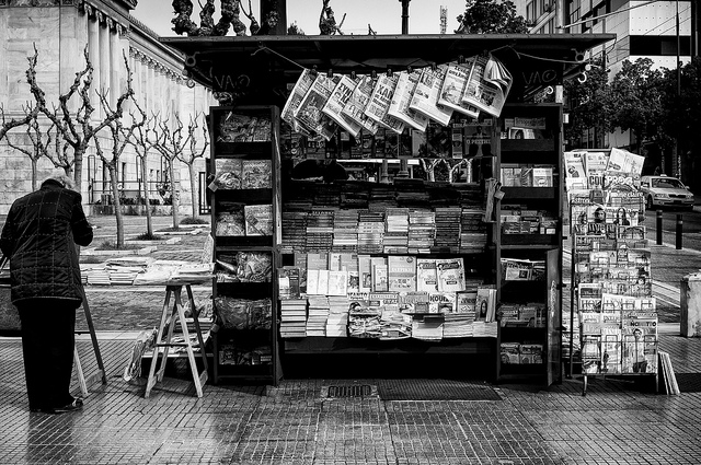 newspapers Athens